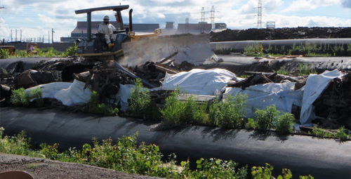 Superfund site cleanup