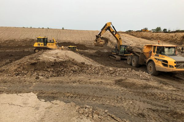 Ottawa County Farms Landfill - Mass Excavation Cell Construction