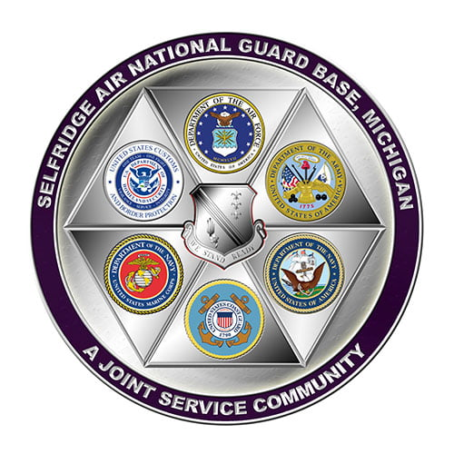 Selfridge-Air National Guard Base Logo