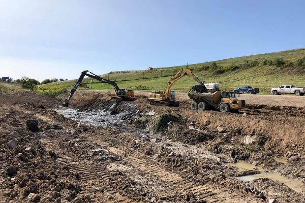 South Kent Landfill - Stormwater Basin Cleanup
